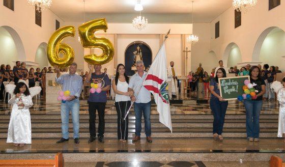 Missa em ação de graças pelo 65º aniversário de Vazante